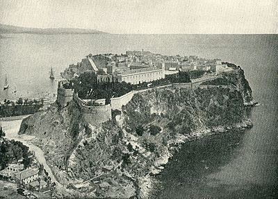 The Prince's Palace in 1890
