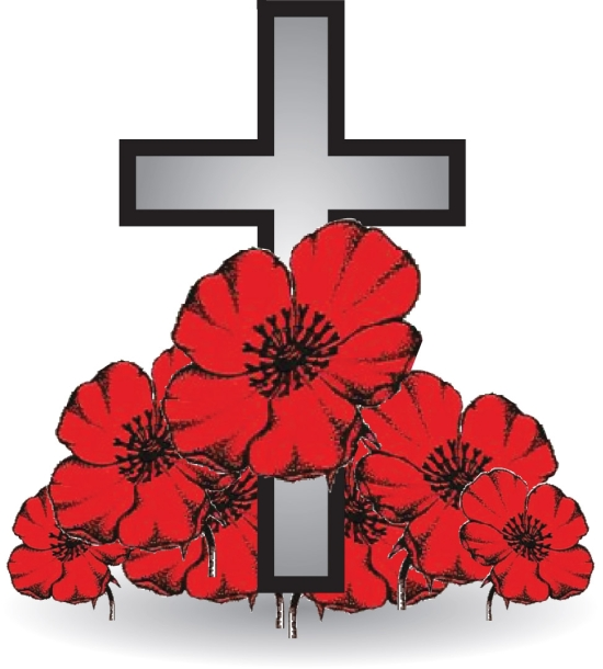 BLCF: cross and poppy