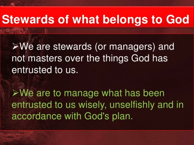 BLCF: stewardship-are-managers_of_Gods_gifts
