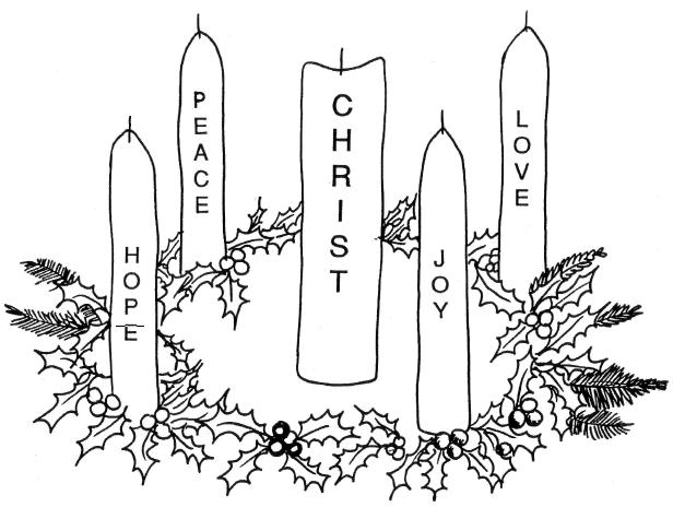advent candles bloor lansdowne christian fellowship blcf. Black Bedroom Furniture Sets. Home Design Ideas