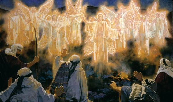 Advent: Angels Announcing the Good News of Peace, Salvation and the Glory of Christ (4/6)