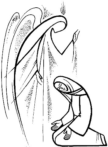 BLCF: Advent -Mary and Angel