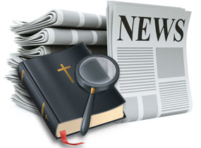 BLCF: bible-and-newspaper