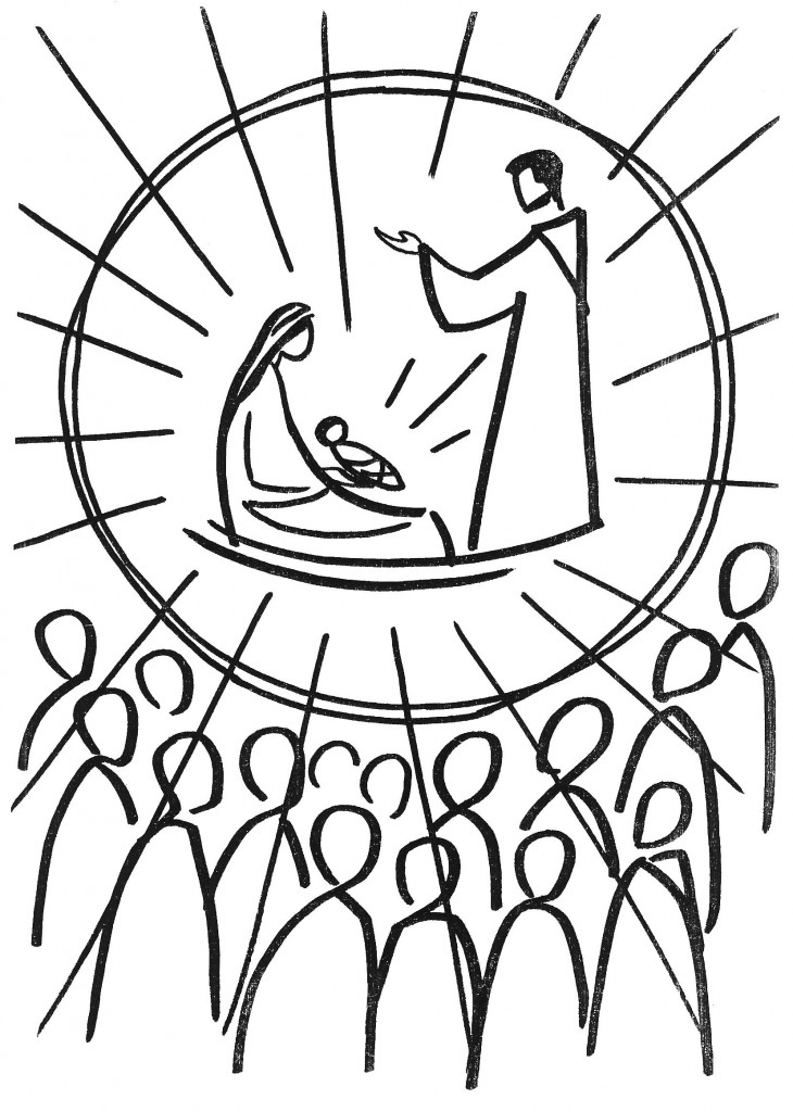 coloring pages christmas lutheran - photo#39