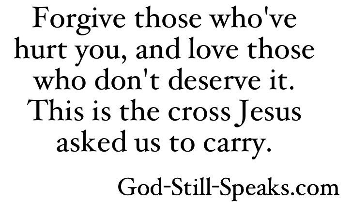 BLCF: forgive-those
