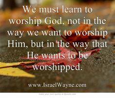 BLCF: learn_to_worship