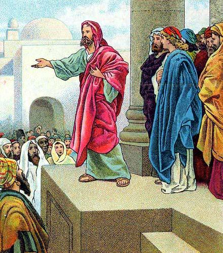 BLCF: Peter-Preaching-Solomons-Portico