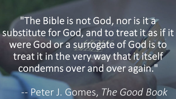 BLCF: The-Bible-is-not-God-Gomes