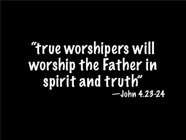 BLCF: true worshipers of God