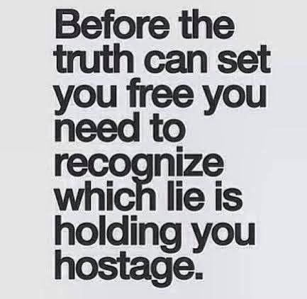 BLCF: encouragement truth freedom lies hostage