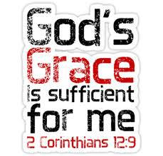 BLCF: Gods-grace-is-sufficient