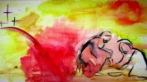 BLCF: Jesus washes desciples feet