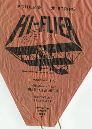 BLCF: Red Hi-Flier Kite