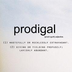 BLCF: prodigal_definition