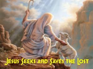 BLCF: Jesus-seeks-and-saves-the-lost-sheep