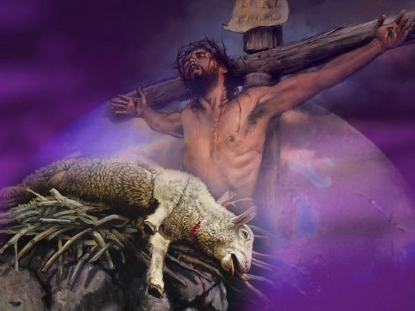 BLCF: Jesus_Passover-cross-lamb