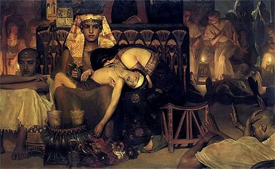 BLCF: Death_of_the_Pharaoh_Firstborn_son_Lawrence_Alma-Tadema