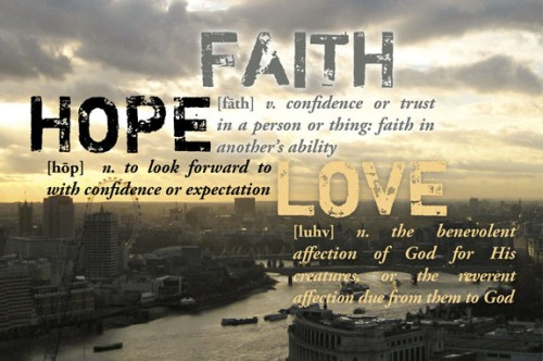 BLCF: faith-hope-love