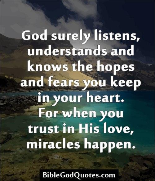 BLCF: God Listens