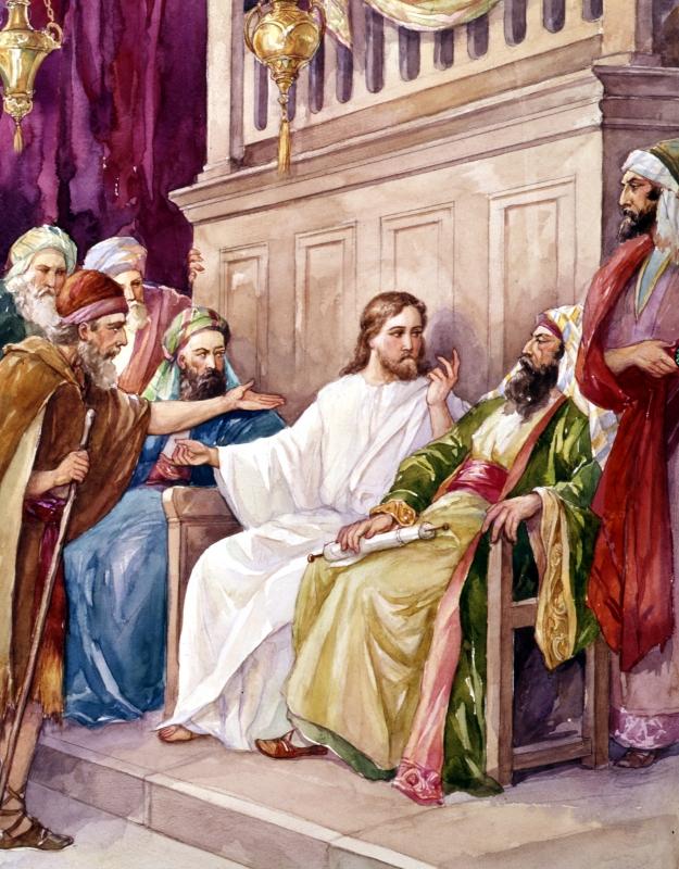 BLCF: Jesus-preaching-at-synagogue-at-nazareth