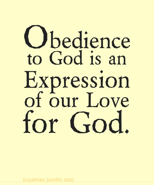 BLCF: Obedience