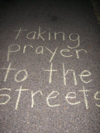 BLCF: Prayerwalking -taking prayer to the streets