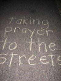 BLCF: Prayerwalking -taking prayer to the streets