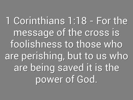 BLCF: 1 Corinthians 1_18