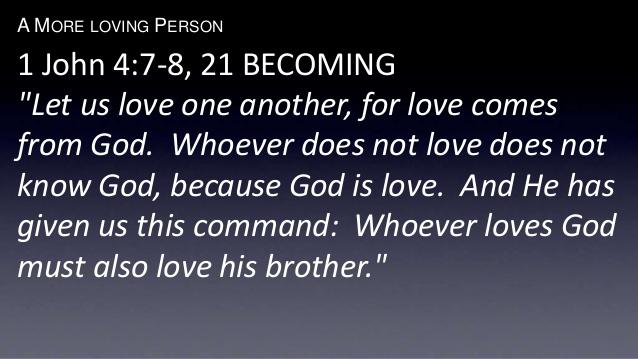 BLCF: a-more-loving-person