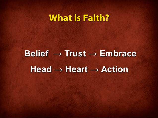 BLCF: faith trust salvation