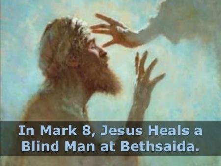 BLCF: Jesus heals a blind man