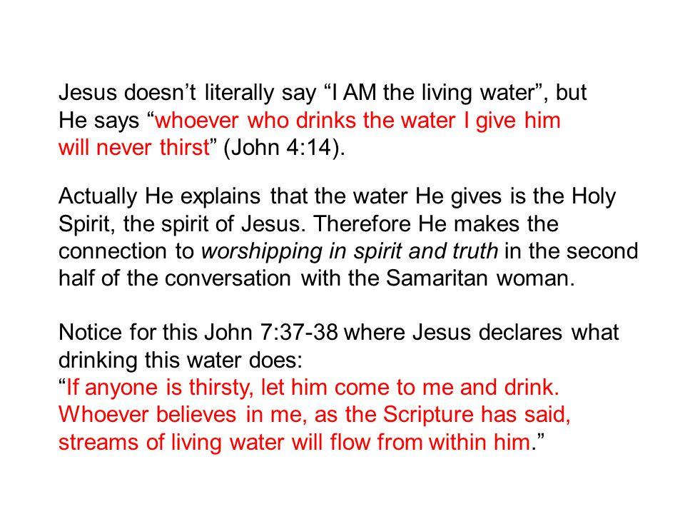 BLCF: living water
