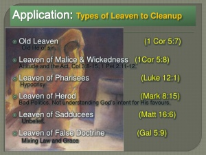 BLCF: types of Leaven