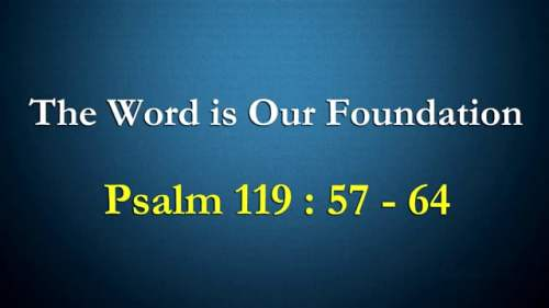 Word is our foundation