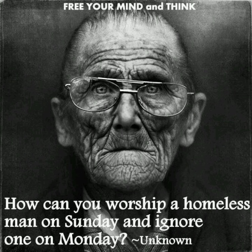 BLCF: worship_a_homeless_man_on_Sunday