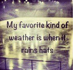 BLCF: hat trick weather