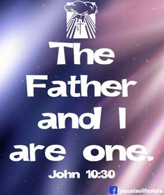 BLCF: the_Father_and_I_are_One