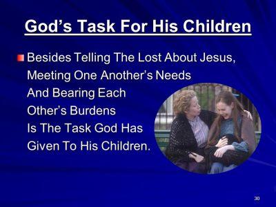 BLCF: God-given-task