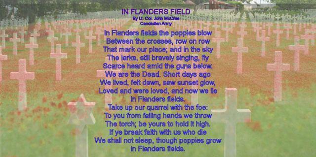 BLCF: In Flander's Fields