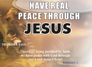 BLCF: Peace through Jesus