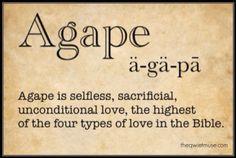 BLCF: agape