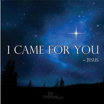 BLCF: I_came_for_you-Jesus