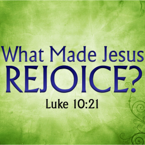 BLCF: Jesus-rejoices