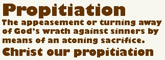 BLCF: Propitiation