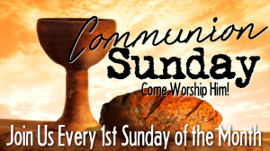 BLCF: Communion Sunday