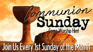 BLCF: Communion Sunday