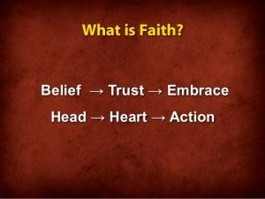 BLCF: faith trust salvation