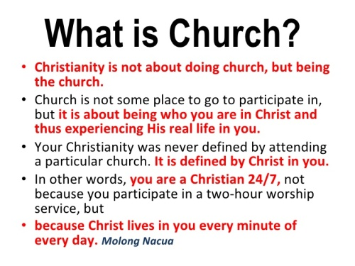 BLCF: being-the-church