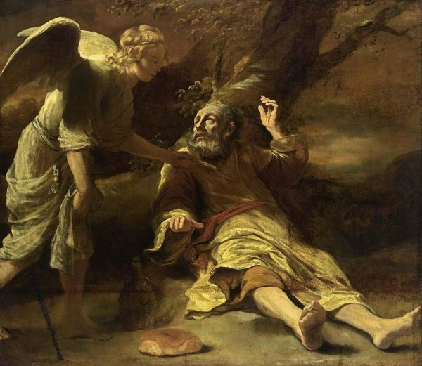 BLCF: Elijah visited by angel