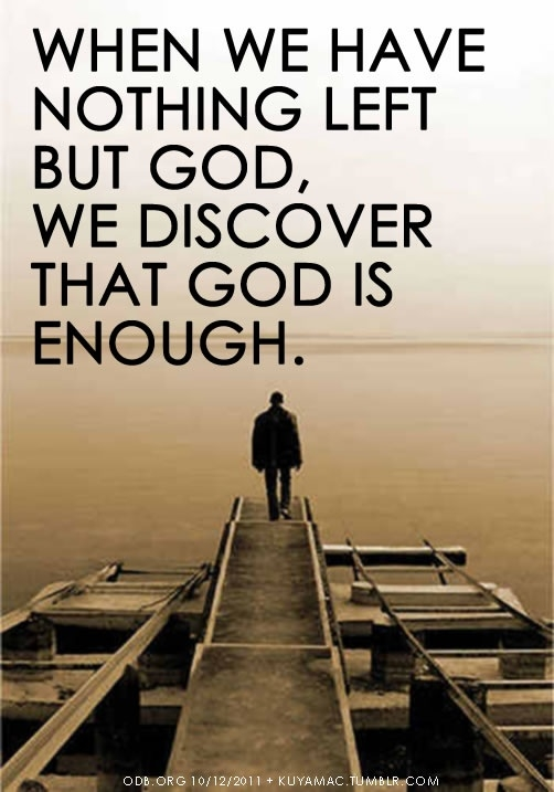 God is enough